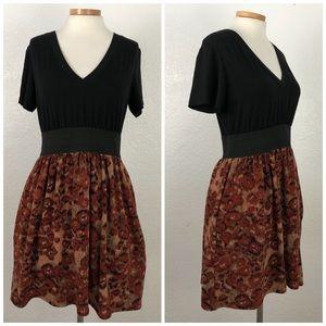 American Rag   Black Boho Pocket Stretch Dress